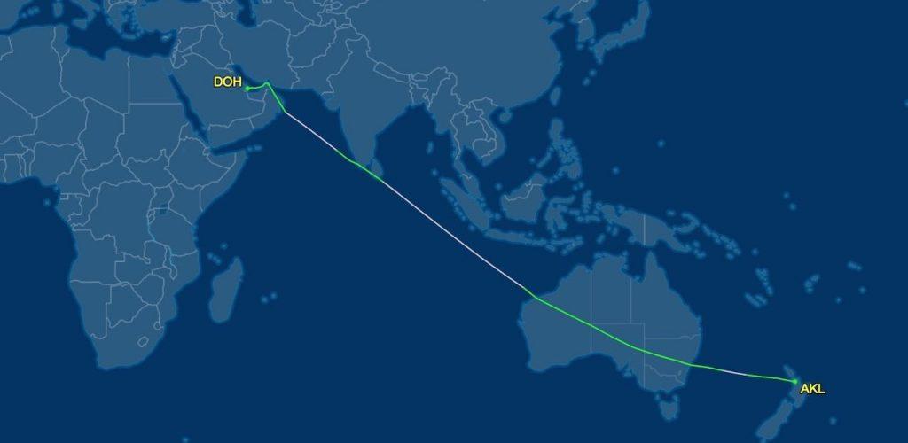 Auckland-to-Doha-nonstop-flight